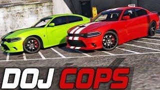 Dept. of Justice Cops #360 - Hellcat Madness (Criminal)
