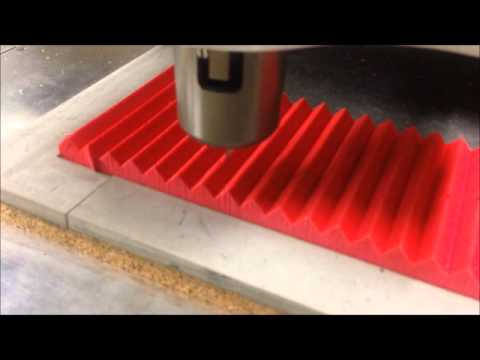 CombiPro DS500 Cutting 18 mm Die Ejection Rubber for rotary die boards - YouTube