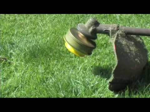how to put whipper snipper cord on stihl