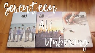 Video SEVENTEEN AL1 UNBOXING (ALL VERSIONS) download MP3, 3GP, MP4, WEBM, AVI, FLV Agustus 2018