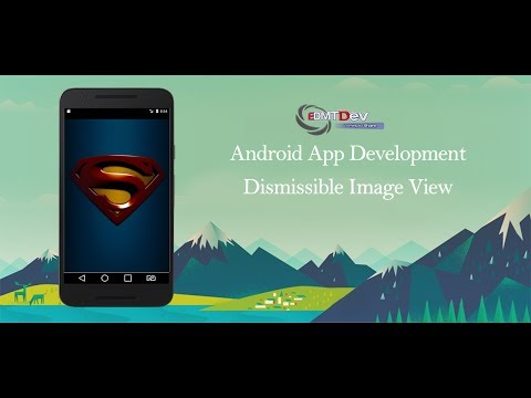 Android Studio Tutorial - Dismissible Image View