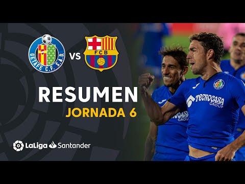 Resumen de Getafe CF vs FC Barcelona (1-0)