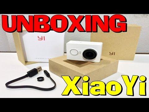 Unboxing XiaoYi Cam Xiaomi Action Cam Yi Cam Aliexpress (PT-BR) HD