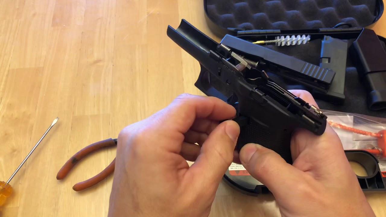 Glock 43 Magazine Release Reversal