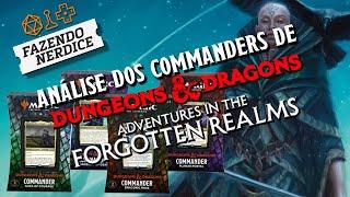 Análise dos Commander Pré Construídos de Adventures in the Forgotten Realms! #MTGAFR