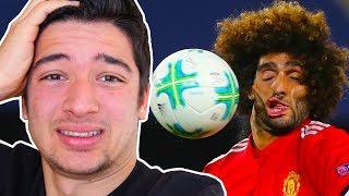 ACIMASIZCA YÜZÜNE HEADSHOT YİYEN FUTBOLCULAR (Futbol Kazaları)