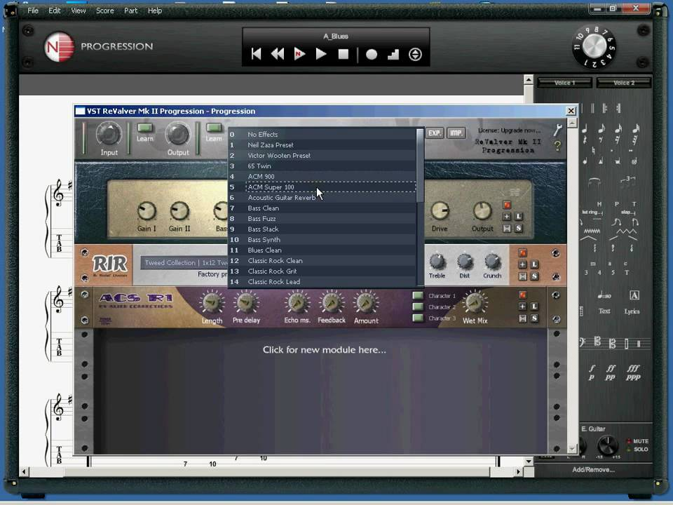 Powertab is a free guitar tab software for the PC. - YouTube