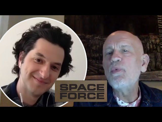Ben Schwartz & John Malkovich from Space Force | Fifi, Fev & Byron
