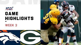 Broncos vs. Packers Week 3 Highlights