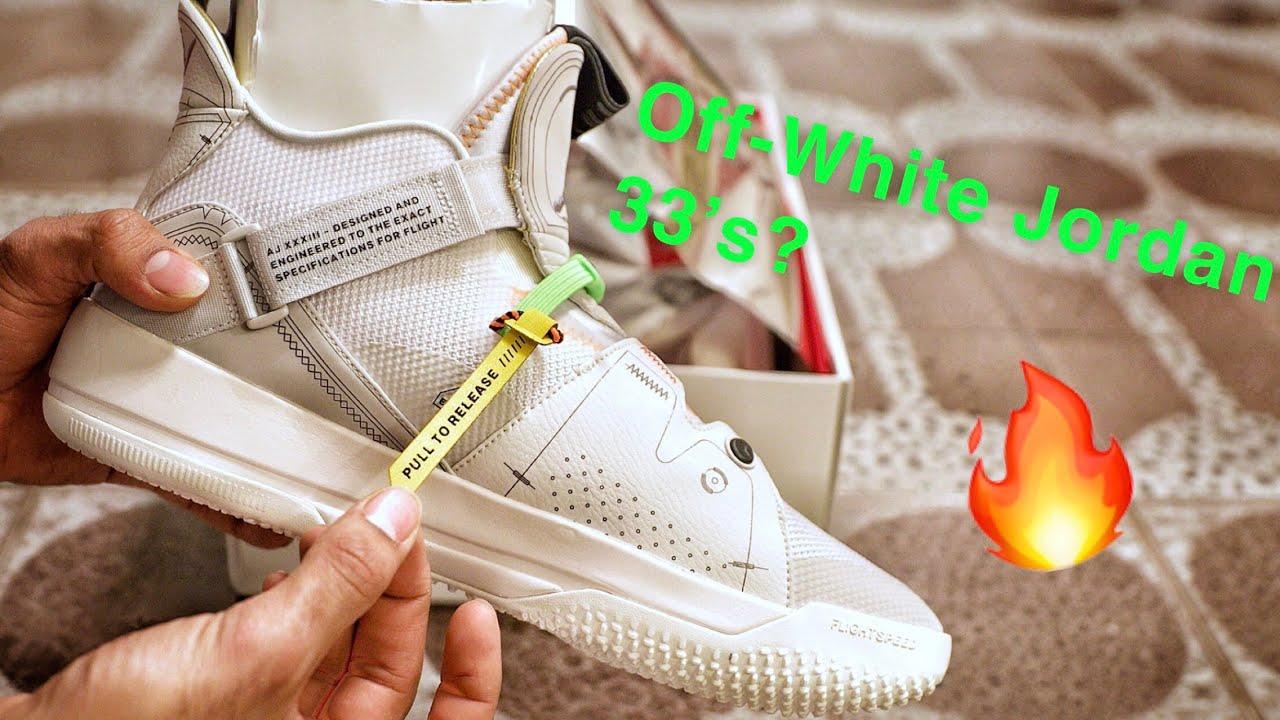 "fba520724ad652 Nike Air Jordan 33 ""Vast Grey"" Sneaker Unboxing and On-Foot Review ..."