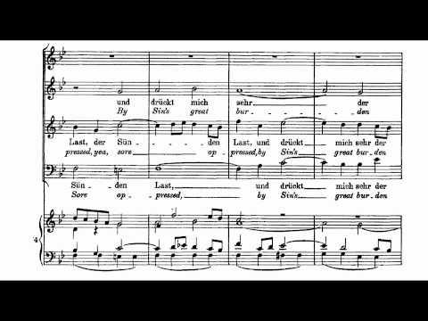"Bach Motet BWV 118 ""O Jesu Christ, mein's Lebens Licht"""