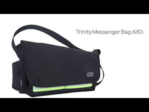 Manhattan Portage Trinity Messenger Bag (MD)