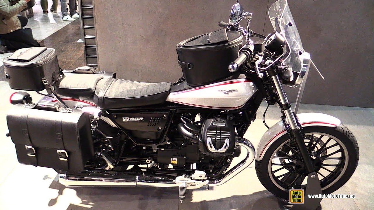 2016 moto guzzi v9 roamer accessorized walkaround 2015 eicma milan youtube. Black Bedroom Furniture Sets. Home Design Ideas