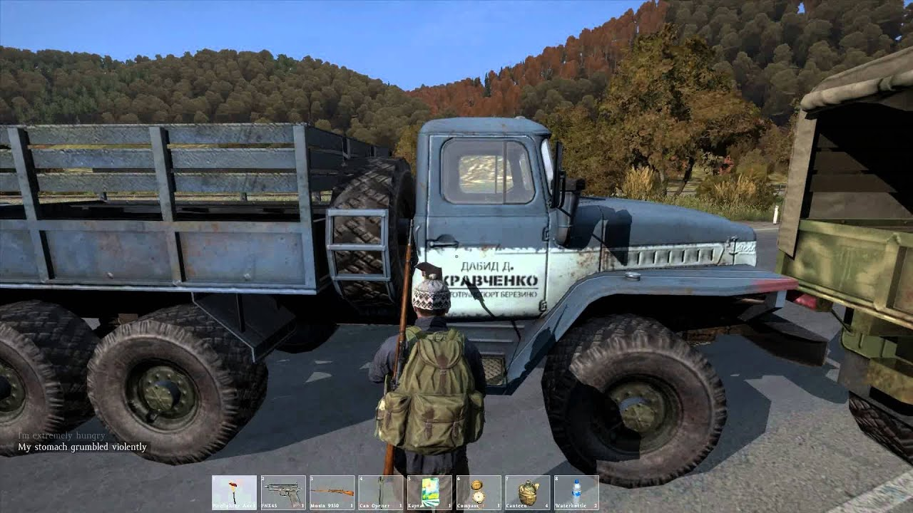 dayz how to start a car