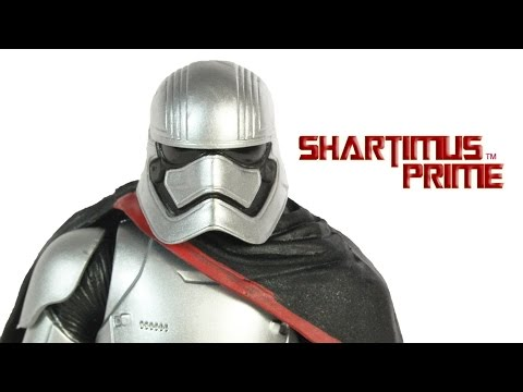 Star Wars Captain Phasma Black Series 6 Inch The Force Awakens Episode VII Movie Toy Figure Review