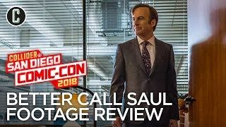 Better Call Saul Season Four Footage Review - SDCC 2018
