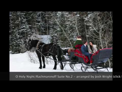 O Holy Night / Rachmaninoff Suite No.2 - piano duo Josh and Lindsey Wright