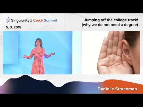 Future of Education I Danielle Strachman I SingularityU Czech Summit 2018