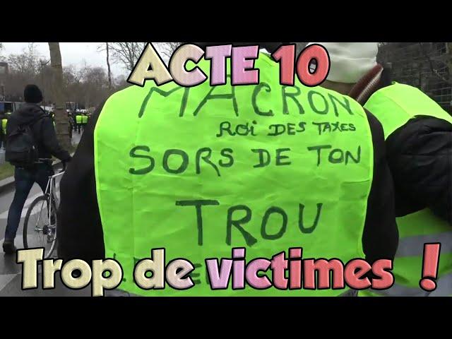 Gilets Jaunes: Acte 10