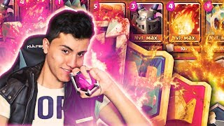 THIS IS THE * BEST DECK * TO RAISE GLASSES IN CLASH ROYALE!!! | Harness for Ladder [YoSoyRick]