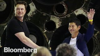 Elon's First Moon Tourist is Another Eccentric Billionaire