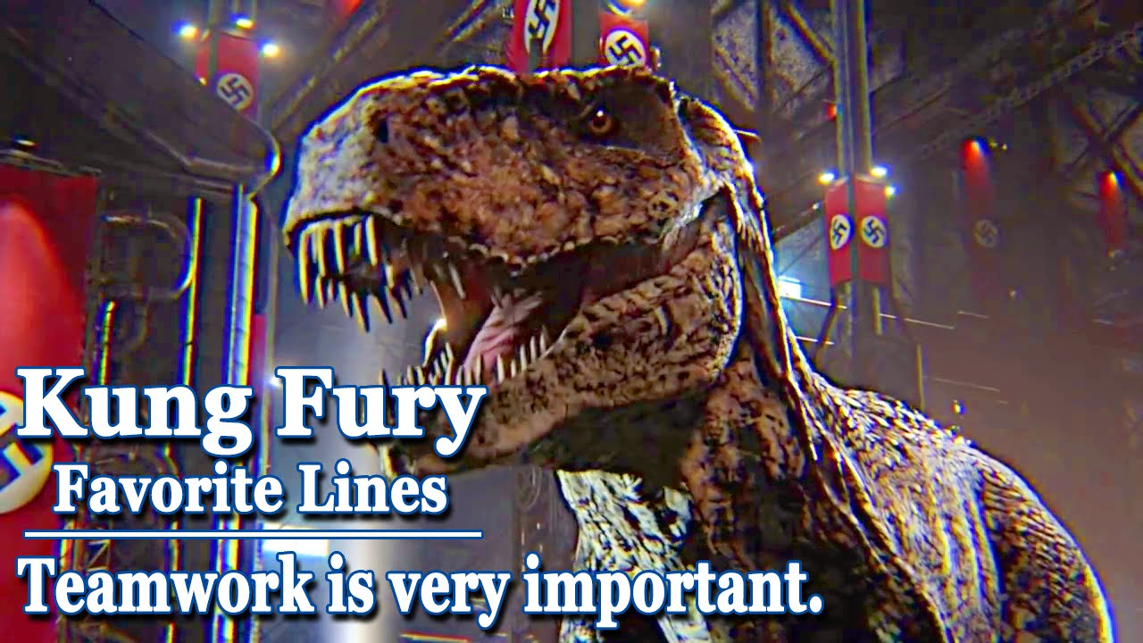 Kung Fury - Favorite Lines - Teamwork is very important - YouTube