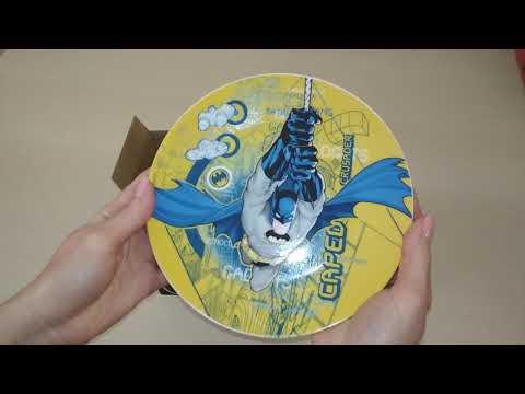 Набор посуды для завтрака 3 предмета Бэтмен КОРАЛЛ