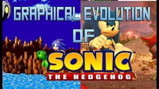 Graphical Evolution of Sonic the Hedgehog (1991-2017)