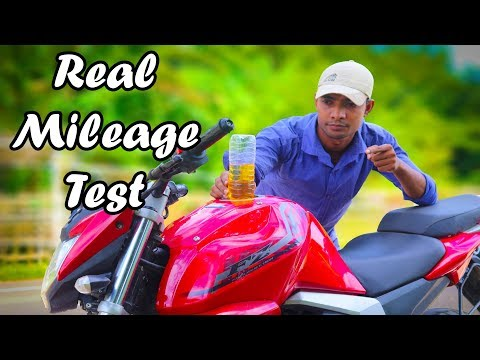 Yamaha FZ Real Mileage Test || 2018 Model ||per Litre