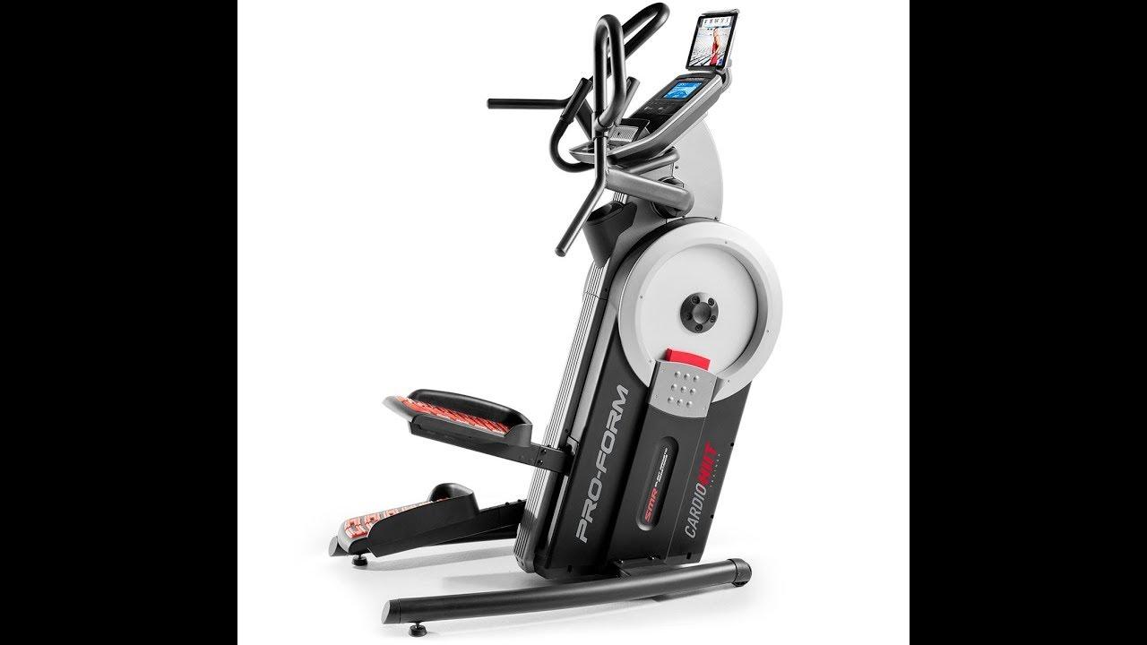 Proform Hiit Trainer Elliptical Stepper Canada Youtube Treadmills, ellipticals, cardio & strength equipment for the home. proform hiit trainer elliptical stepper canada
