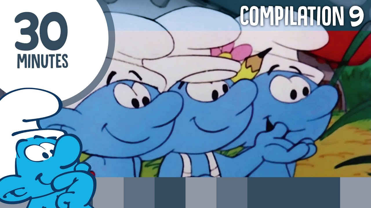 30 Minutes of Smurfs • Compilation 9 • The Smurfs