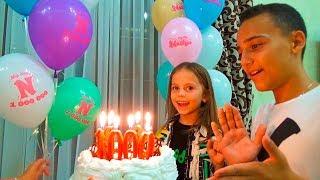 1 000 000 Миллион ПОДПИСЧИКОВ на канале Настя МОДЕЛЬ на подиуме Подарки для детей Розыгрыш для Саши
