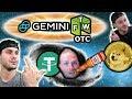 Gemini Dollars vs Tether, Trade $NEX OTC? $NEO FTW Lotto! Keith Waering🤣🤣 $DOGE MOON