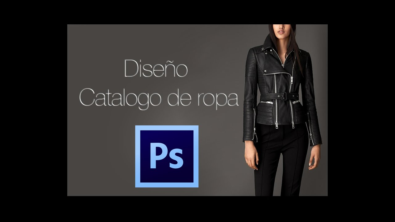 Photoshop tutorial - Diseño Catalogo (Ropa y demas) - YouTube