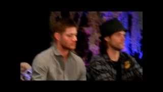 Jensen and Jared: spending time when not working - Burcon 2013