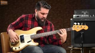 1967 Fender Precision Bass Shoreline Gold