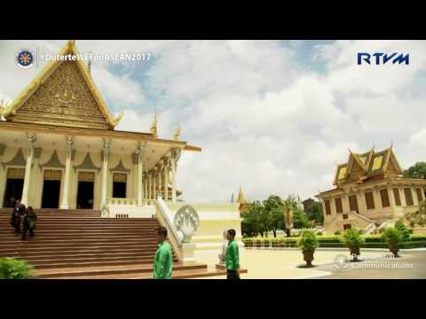 Visit to the Royal Palace and Silver Pagoda by Madame Cielito 'Honeylet' Avacena 5/11/2017