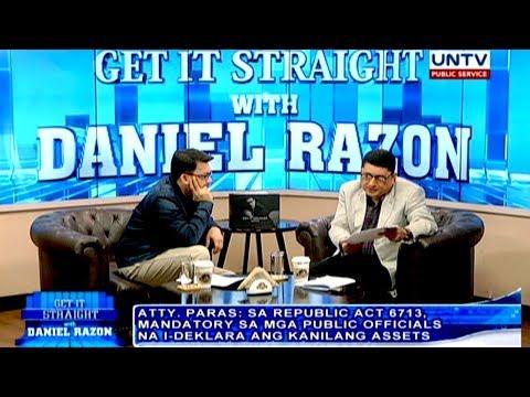 Former Negros Oriental Rep. Jacinto Paras on filing impeachment rap vs Andy Bautista