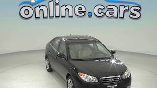 oA97844XT 2009 Hyundai Elantra GLS FWD 4D Sedan Black Test Drive, Review, For Sale