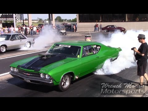 Nitrous Chevelle Overpowering the Track