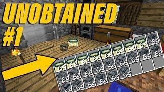 Getting a Spawner & End Portal Frame in vanilla Minecraft Survival!!!   Unobtained Episode 1
