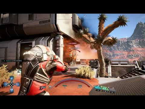 Krogan Engineer Powers Only Gold Solo (Mass Effect Andromeda)