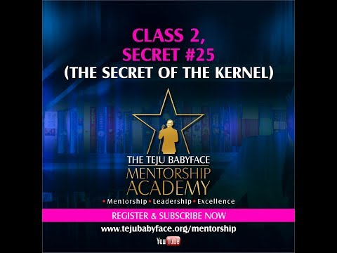 CLASS #2 (SECRET 25): DISCOVERING YOUR CALLING