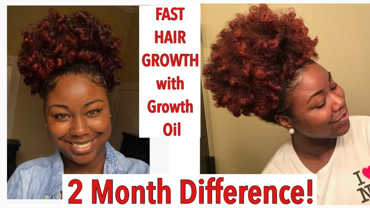 Best Hair Growth Oil For Natural Hair Youtube