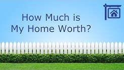 What's my home worth?  Determining value when selling your home.