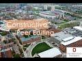 Constructive Peer Editing