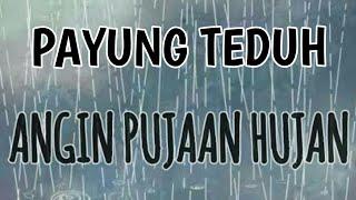PAYUNG TEDUH - ANGIN PUJAAN HUJAN ( LIRIK LAGU )