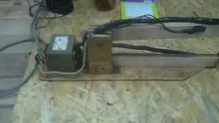 Точечная сварка из трансформатора микроволновки.(Точечная сварка из трансформатора микроволновки., 2015-11-15T07:23:00.000Z)