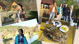 Влог /КАРПАТЫ Сходница: форелевая рыбалка в с. Опака, рынок, покупки / Ч.2