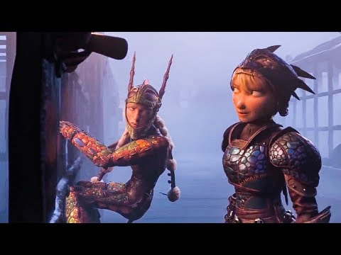 How To Train Your Dragon 3 'Dragon Rescue' Movie Clip (2019) HD
